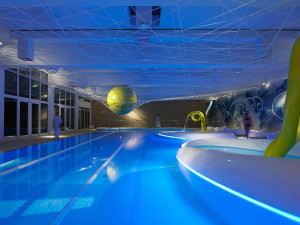 Indoor pool at Parkhotel Ai Cappuccini.