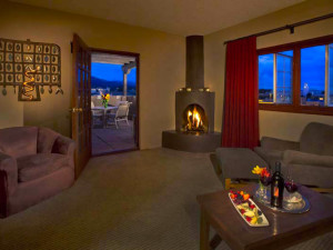 Guest room at Eldorado Hotel.