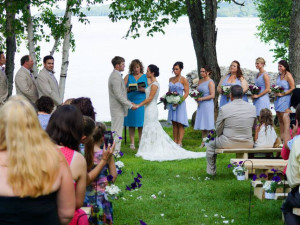 Weddings at The Birches Resort.