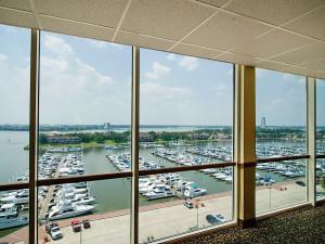Marina view at South Shore Harbour Resort & Spa.