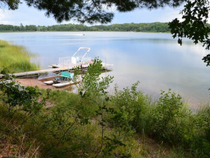 Lake view at Mallard Lake Rentals.