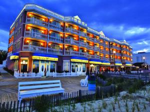 Exterior view of Boardwalk Plaza Hotel.