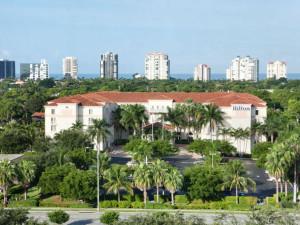 Exterior view of Hilton Naples.