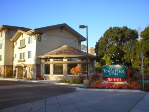 Exterior view of TownePlace Suites San Jose Campbell.