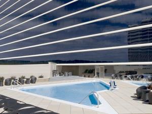 The pool at Hyatt Regency Birmingham - The Wynfrey Hotel.