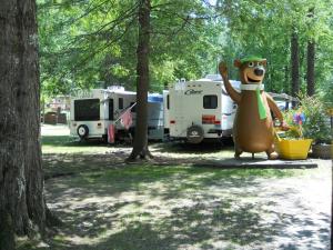 Camping at Yogi Bear's Jellystone Resort Cherokee.
