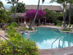 Outdoor pool at Maui Kamaole.