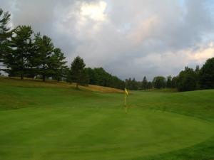 Golf course near Footprints Resort.