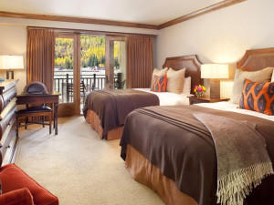 Guest room at The Sebastian Vail.