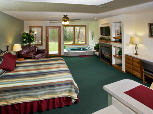 King Suite at Aspen Winds.