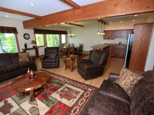Interior at East Silent Lake Vacation Homes.