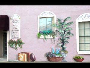 Exterior view of Sierra Madres's Jailhouse Inn.