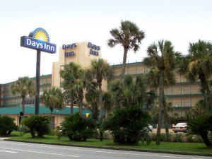 Exterior of Days Inn Panama City Beach
