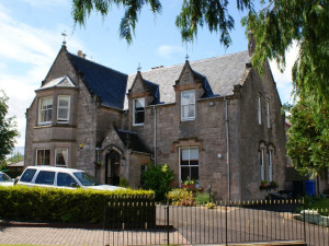 Exterior view of Ardmeanach House.
