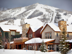 Exterior view of The Porches of Steamboat.