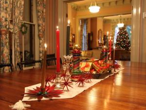 Christmas time at Camellia Inn.