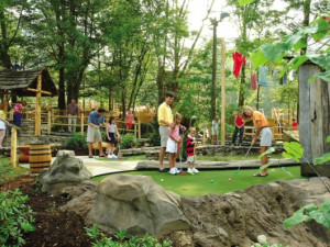 Mini golf at Mountain Shadows Resort.