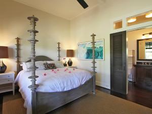 Guest room at Lumeria Maui.