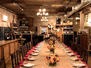 Dining at Villagio Inn and Spa.