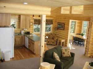Cabin Interior at Pehrson Lodge Resort