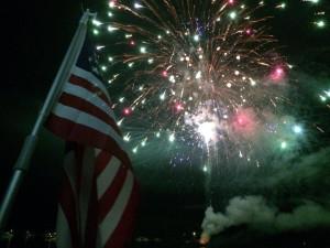 Fourth of July at Snug Harbor Marina Resort.