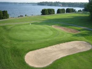 Golfing at Bluff Point Golf Course and Resort