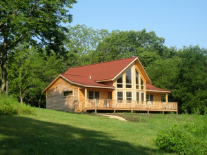 Sunrise Ridge Cabin sleeps 8-10
