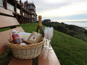 Romance package at Hallmark Resort in Newport.