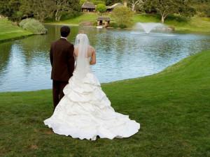 Wedding at Quail Lodge Resort.