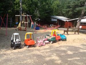 Kid's activities at Big Buffalo Resort.
