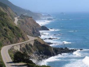 California coastline near Sonoma Coast Villa & Spa Resort.