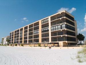 Exterior view of Resort Rentals.
