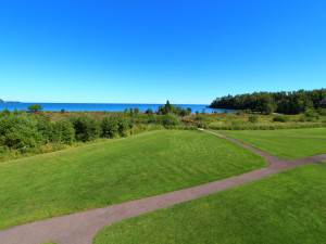 Grounds at Superior Shores Resort.