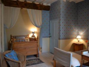 Guest room at Jouandassou.