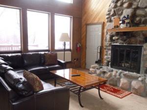 Rental living room at Big Powderhorn Mountain Resort.