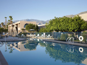 Outdoor pool at Vista Mirage Resort.