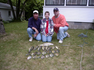 Fishing at Woodland Resort.