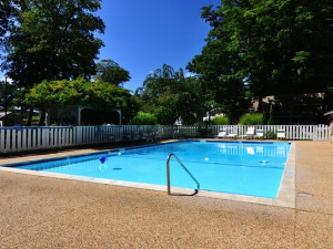 Outdoor Pool at Michillinda Lodge.
