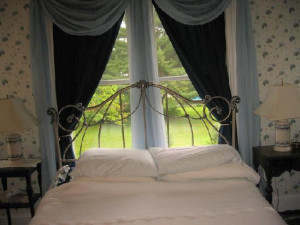 Guest room at Stonegate Bed & Breakfast.