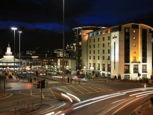 Exterior view of Liverpool Marriott.
