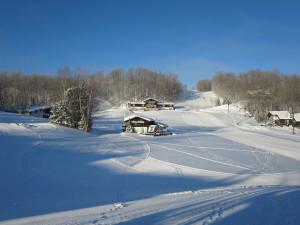 Exterior view of Whitecap Mountains Resort.