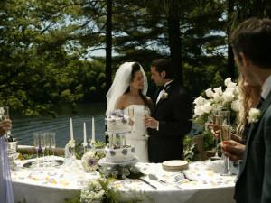 Wedding at Cove Haven Entertainment Resorts.