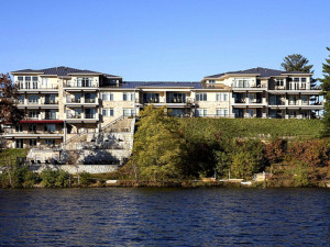 Exterior Resort & Lake View at Delton Grand Resort