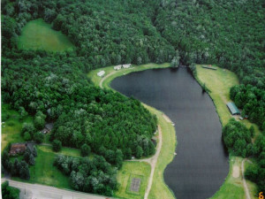 Aerial View of Lake Genero