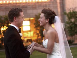 Wedding Couple at Arizona Biltmore Resort