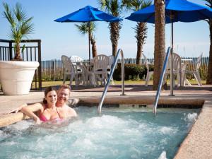 Hot tub at Long Bay Resort.