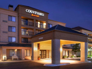 Exterior view of Courtyard by Marriott Detroit/ Novi.