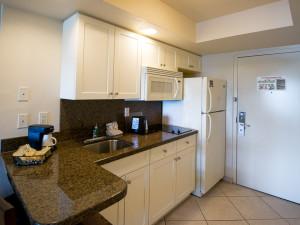 Suite Kitchen at Best Western Beach Resort Hotel