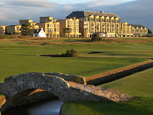 Exterior view of Old Course Hotel Golf Resort & Spa.