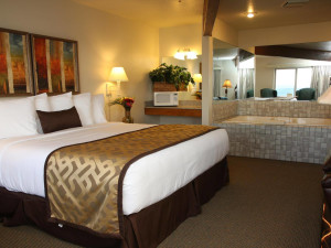 Guest suite at Adobe Resort.